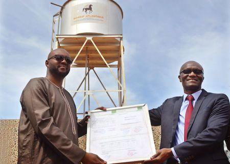 Banque Atlantique fait un don d'infrastructures et de matériels d'équipements à l'Ecole Primaire GOROU BERI de Niamey