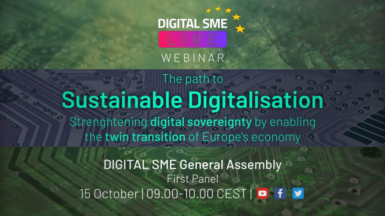DIGITAL SME Live: The path to sustainable digitalisation