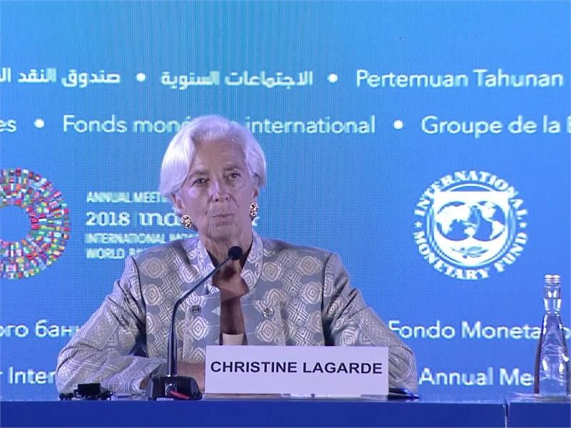 """IMF Media Center : IMF's Lagarde: """"We Are Stronger Together"""""""