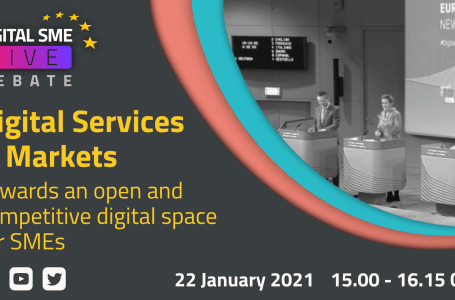 Debate on Digital Services Act, Digital Markets Act