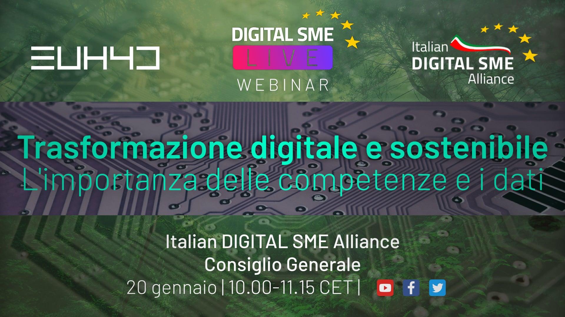Consiglio Generale Italian Digital SME Alliance