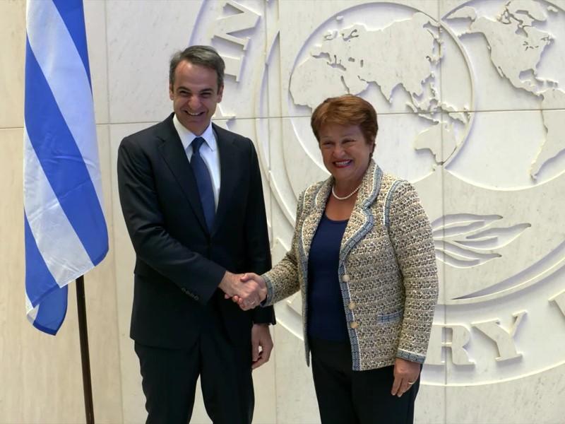 IMF Media Center : IMF Greece Mitsotakis