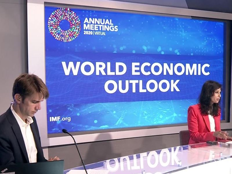 IMF WEO Global Growth Forecast