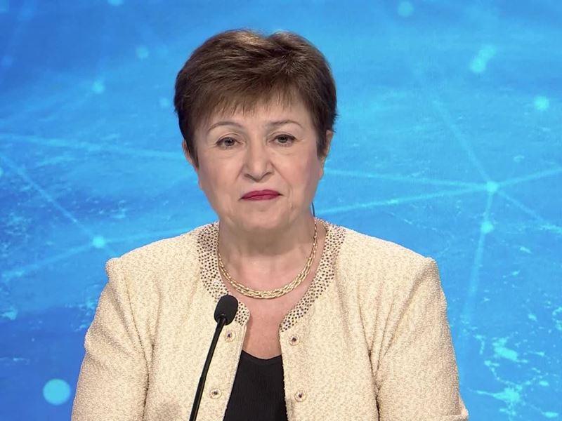 IMF Media Center : IMF Georgieva Global Growth