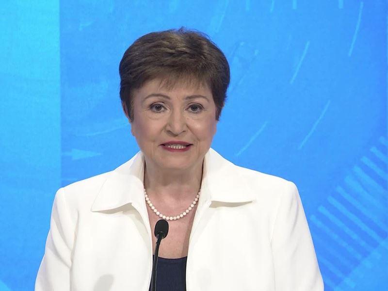 IMF / Kristalina Georgieva Press Briefing Spring Meetings 2021