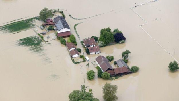 Γαλλία πλημμύρες