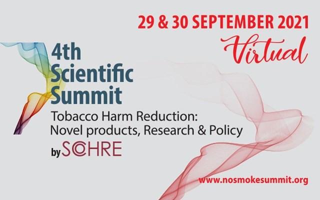 """4th Scientific Summit on Tobacco Harm Reduction"": Οι οικονομικές διαστάσεις από τον έλεγχο του καπνίσματος"
