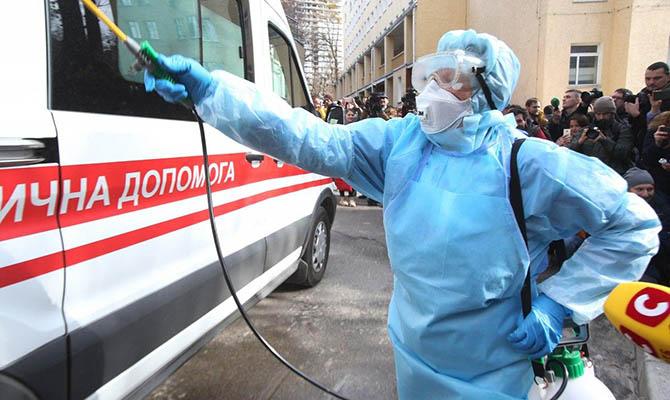 В Украине за сутки 13 371 случай Covid-19