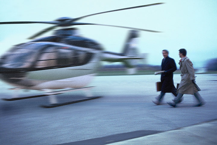 Private helicopter charter