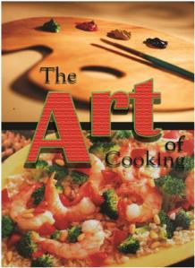 CAPS' Art of Cooking cookbook