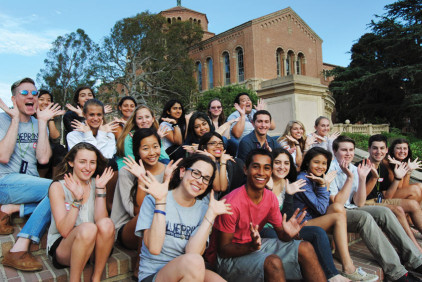 Blueprint Summer Programs Students and Staff at UCLA '13.