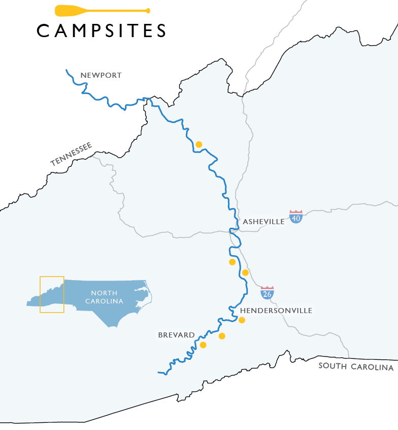 Canoeing the French Broad River Paddle Trail - Capital At Play