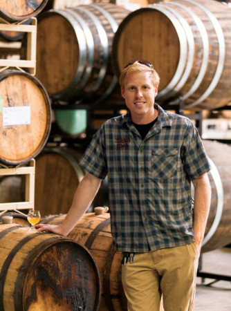 Luke Dickinson, partner of Wicked Weed