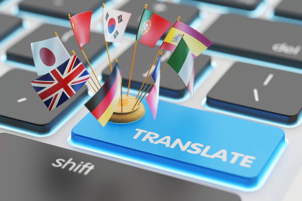 translation of foreign language documents