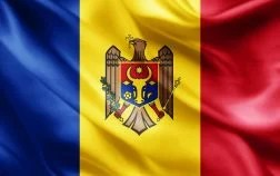 Embassy of the Republic of Moldova Flag