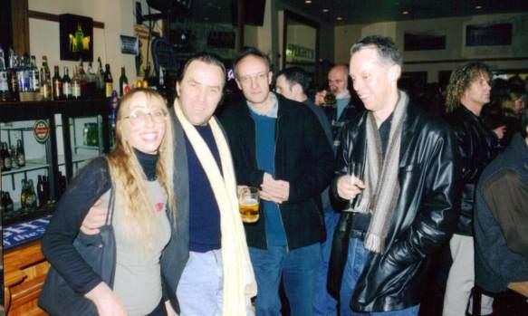 Trudy Benham, Al Norman, Bill Lake, Andrew Delahunty
