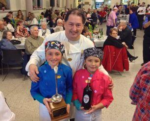Chartrand & young sous chefs @ 2015 Soup Splash