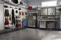 Garage Wall Organization System