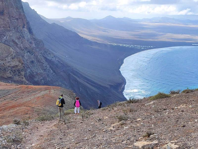 Walking in the north of Lanzarote