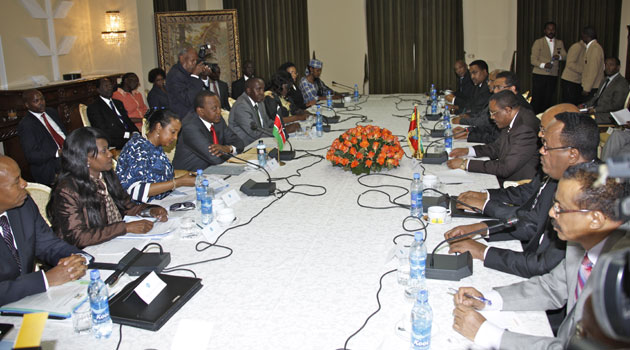 The President spoke in Addis Ababa, on the second day of his State visit to Ethiopia, at a Kenya-Ethiopia Business Forum that was addressed by Prime Minister Hailemariam Desalegn/PSCU