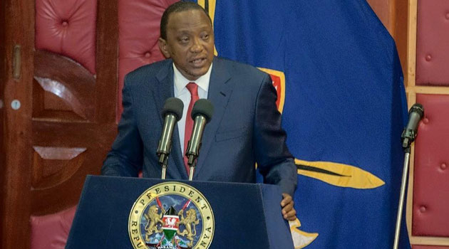President Kenyatta said in his State of the Nation address that he expected officials of county governments and the Judiciary named in the report to also vacate office/PSCU
