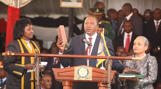 Image result for Swearing-In of President Kenyatta to Start at 10am