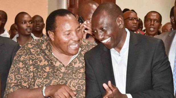 Image result for WAITITU and ruto