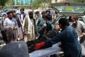 Blasts at Afghan market kill 23 civilians