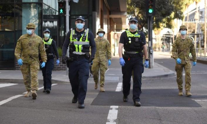Virus curfew imposed on Australia's second-biggest city
