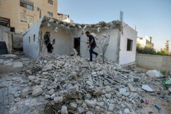 Denied permits, Palestinians raze own homes in Jerusalem