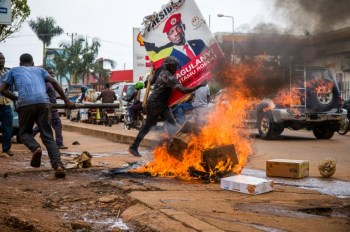 28 die in violent start to Uganda's election season
