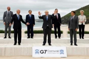 G7 leaders convene summit drive for billion jabs