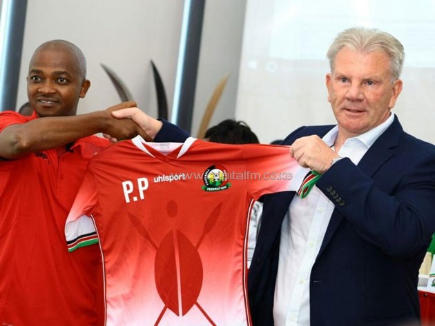 Image result for KENYA'S PAUL PUT VOWS TO REACH 2019 AFCON