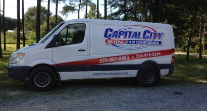 Capital City mechanical Van