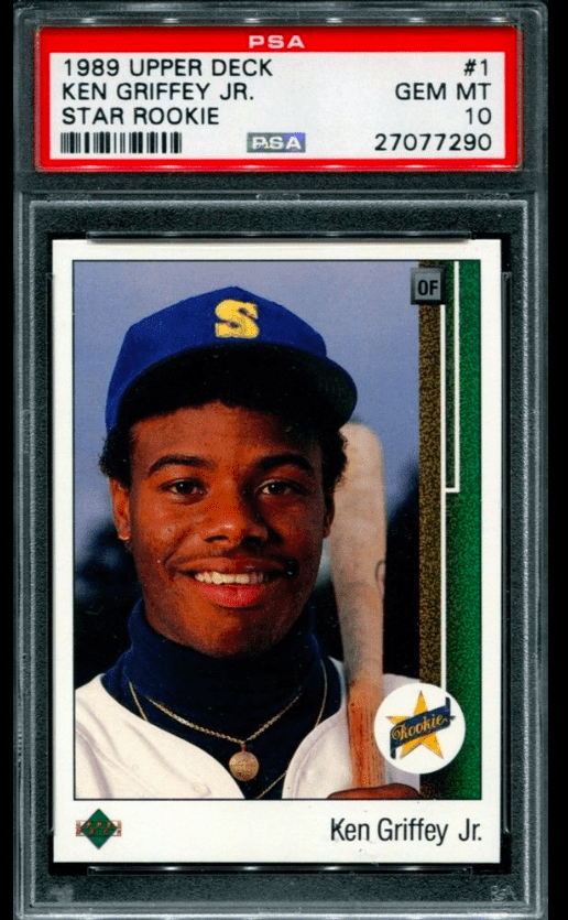 1989 Upper Deck Ken Griffey Jr. rookie