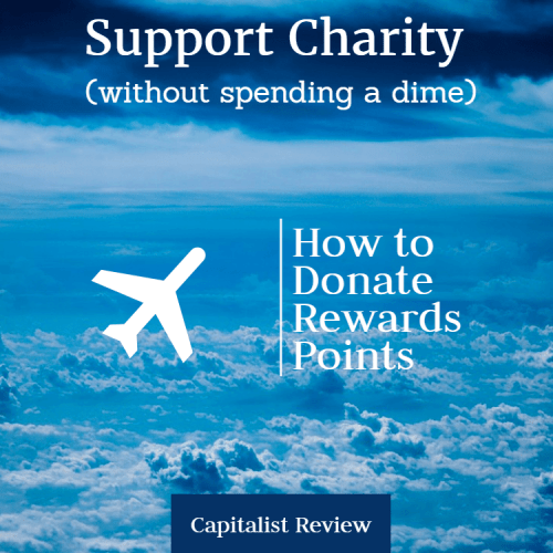 donate miles to charity