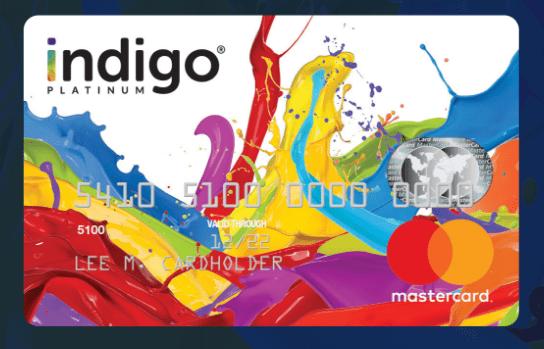 MyIndigo Card Activate (Indigo Platinum MasterCard)