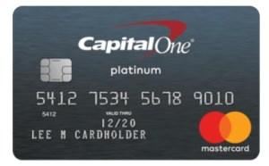 Capital One Secured Mastercard