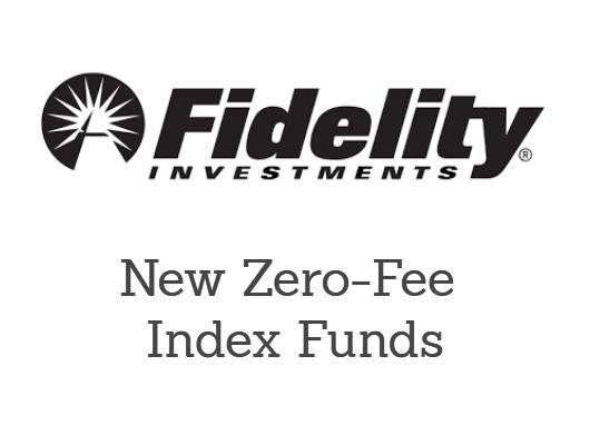 Zero fee index funds