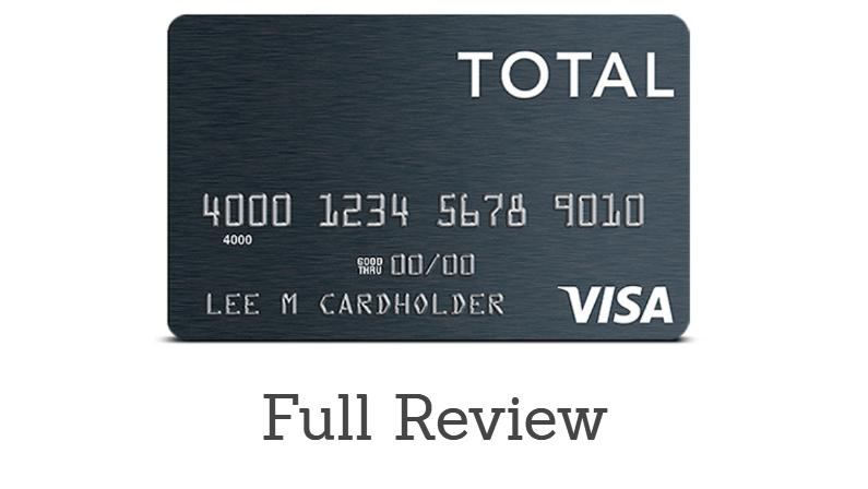 Total Visa Unsecured Credit Card Review