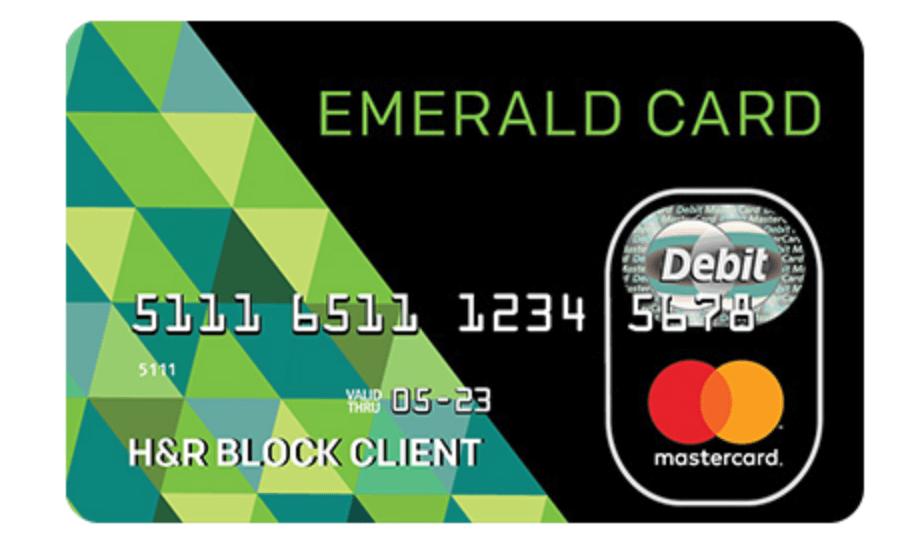 hrblock com emeraldcard