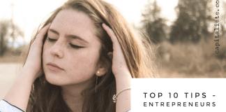 entrepreneur top 10 tips capitalists