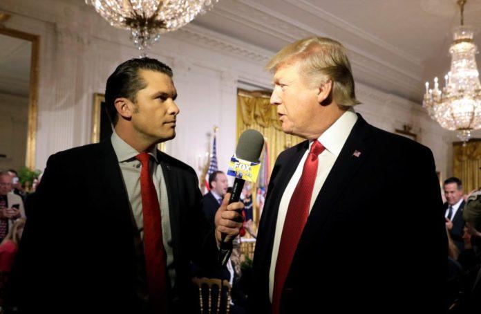 trump and hegseth