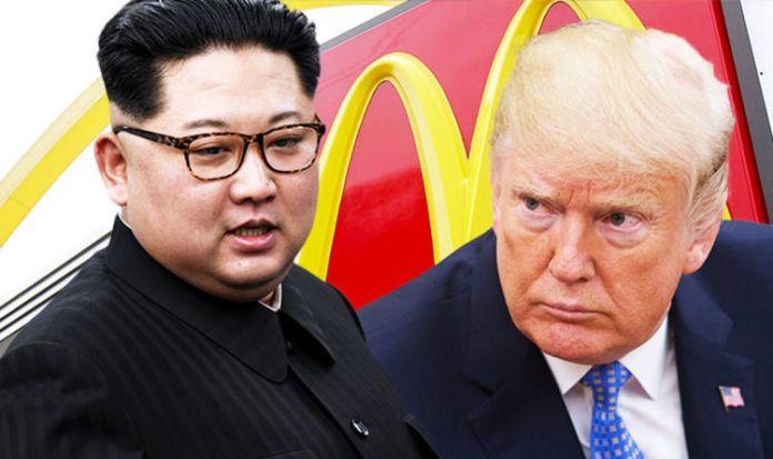 McDonalds in north korea