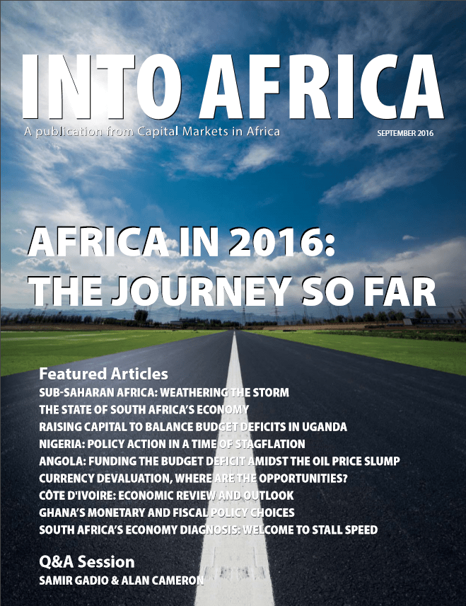 INTO AFRICA September Edition: AFRICA in 2016: The Journey So far!