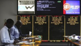 Zimbabwe stock market hits new highs as currency, cash problems worsen