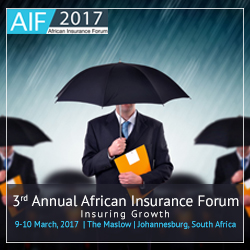 3rd Annual African Insurance Forum 2017, South Africa