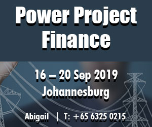 Power Project Finance - 16-20 Sept South Africa