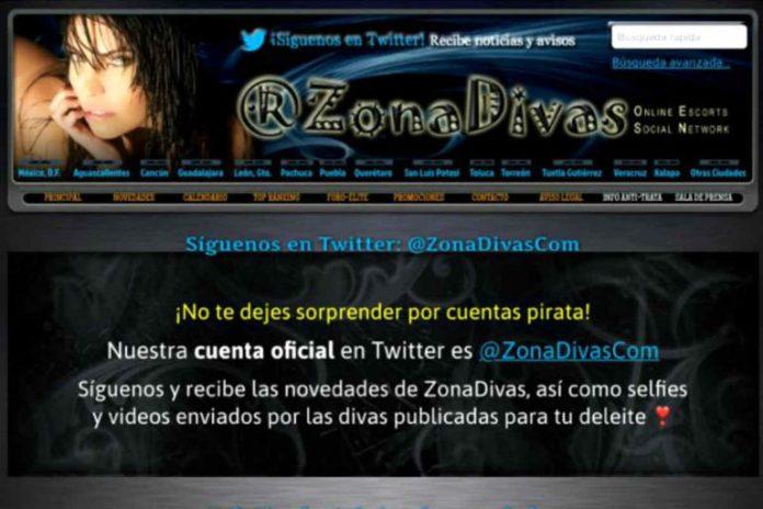 Cierra Zona Divas y el servicio sexual se va a Twitter