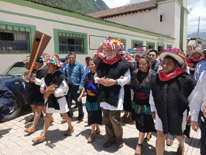 """Tras 45 años de conflicto; Segob firmó pacto de """"No agresión"""" con municipios de Aldama y San Pedro Chenalhó, Chiapas"""